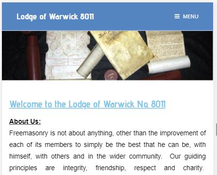 Lodge of Warwick 8011